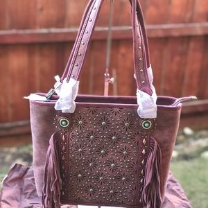 Montana West Concealed Carry Tote Bag NWT